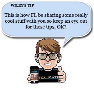 look for wiley's tips