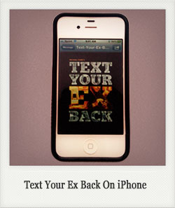 text your ex back for iPhone